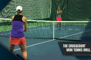 The Crosscourt Mini Tennis Drill