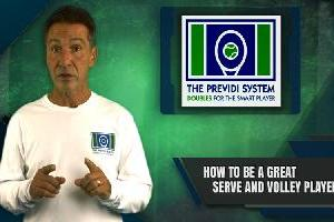 How To Be A Great Serve & Volleyer In Doubles Tennis