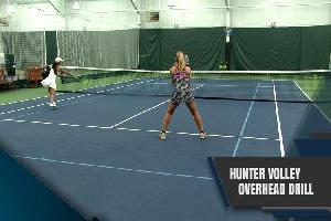 The Hunter Volley Overhead Drill