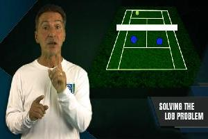 Solving The Lob Problem In Doubles Tennis