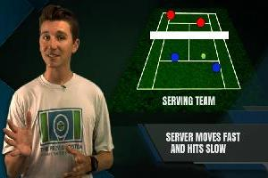 Serve And Volley Vs. An Attacking Receiver