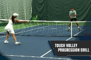 The Touch Volley Progression Drill